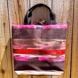 NWT kate spade Striped Vertical Bucket Bag
